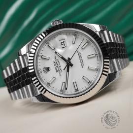 RO22350S Rolex Datejust 41 Unworn Close10