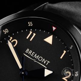 BM21731S Bremont U-2 Black Jet Pilot Watch Close3 1
