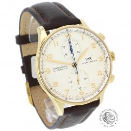IW22062S IWC Portuguese 18ct Chronograph Dial