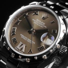 RO22610S Rolex Ladies Datejust Midsize Close3