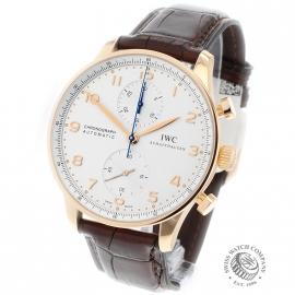 IWC Portugieser Chronograph Rose Gold