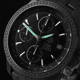 TA1902P Tag Heuer Link Chronograph Close1