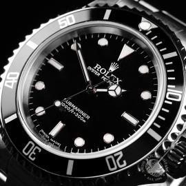 RO22249S Rolex Submariner Non-Date '2-Line' Close2