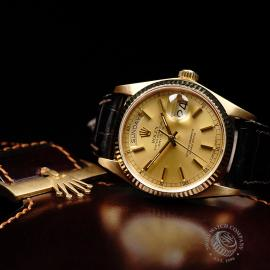RO21796S Rolex Vintage Day-Date 18ct Close10