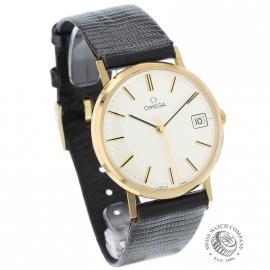 OM19632S Omega Vintage 9ct Gents Dress Watch Dial