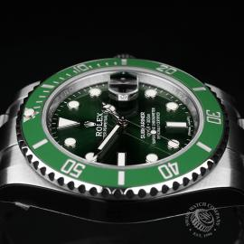 RO22274S Rolex Submariner Date Ceramic 'Hulk' Unworn Close6