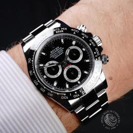 RO21770S Rolex Daytona - Cerachrom Bezel Model Wrist