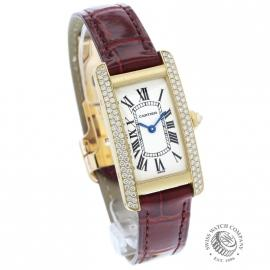 CA852F Cartier Tank Americaine 18ct Dial