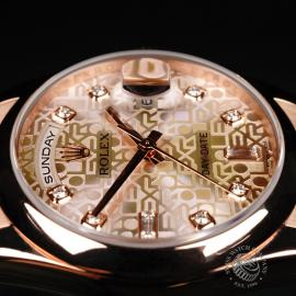 RO22196S Rolex Day-Date 36 Everose Close7 1