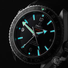 OM21785S Omega Seamaster Planet Ocean Co-Axial GMT Close1