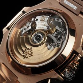 PK22578S Patek Philippe Nautilus Chronograph Rose Gold Close9