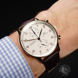 IW22062S IWC Portuguese 18ct Chronograph Wrist