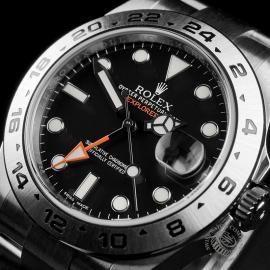 RO22374S Rolex Explorer II Orange Hand Close2