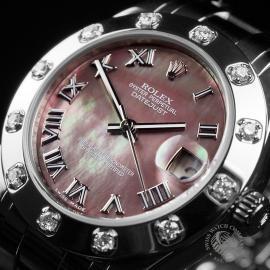 RO22303S Rolex Ladies Pearlmaster Close 2