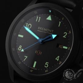 BM21731S Bremont U-2 Black Jet Pilot Watch Close1