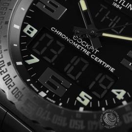 20151S Breitling Cockpit B50 Titanium Chronograph Close9