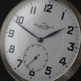 IW844F IWC Vintage 'Kriegsmarine' Pocketwatch Close1