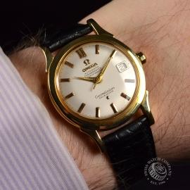 Vintage Omega Constellation 18ct Wrist 1