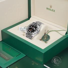 RO22474S Rolex Explorer II Orange Hand Unworn Box 1