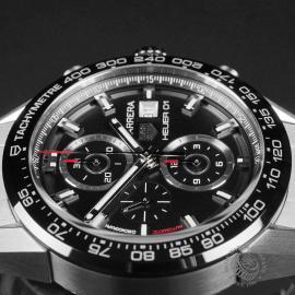 TA22562S Tag Heuer Carrera Calibre HEUER 01 Chronograph Close6 1
