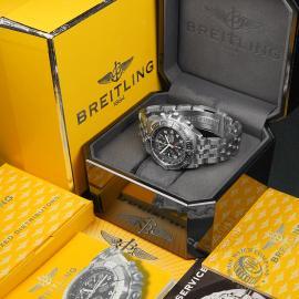 BR22647S Breitling Chronomat Blackbird Box 1