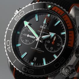 OM21294S Omega Seamaster Planet Ocean 600m Co Axial Chrono Close1