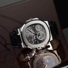 PT21241S Patek Philippe Nautilus 18ct White Gold Close10