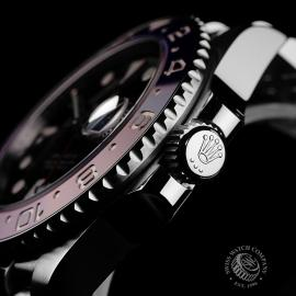 RO22120S Rolex GMT Master II BLRO Close6