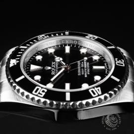 RO21834S Rolex Submariner Non Date Ceramic Close6
