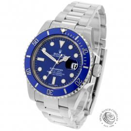RO21985S Rolex Submariner Date 18ct White Gold Back