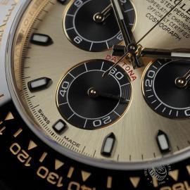 RO22580S Rolex Cosmograph Daytona 18ct Gold Cerachrom Unworn Close4