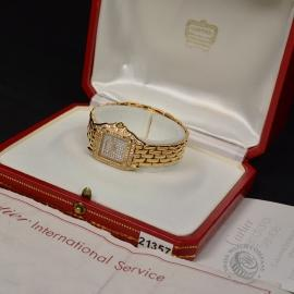 21357S Cartier Panthere 18ct Gold Box 1