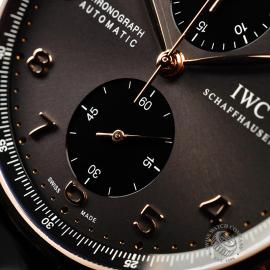 IW21979S IWC Portuguese 18ct Chronograph Close4