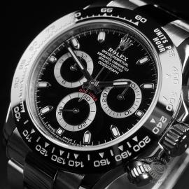 RO22397S Rolex Cosmograph Daytona Cerachrom Bezel Close2