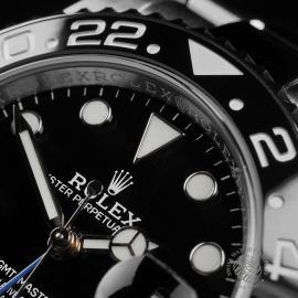 RO22681S Rolex GMT Master II 'Batman' Close3 1