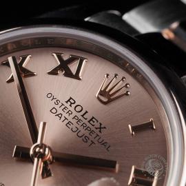 RO22560S Rolex Ladies Datejust Midsize Close3
