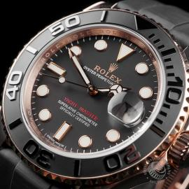 RO22598S Rolex Yachtmaster Everose Gold Close2
