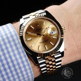 RO22160S Rolex Datejust 41 Wrist