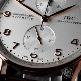 IW1888P IWC Portugieser Chronograph Close 4