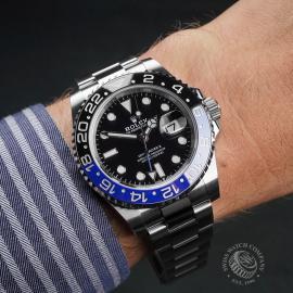 RO22681S Rolex GMT Master II 'Batman' Wrist