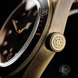 TU21992S Tudor Heritage Black Bay Bronze 'Bucherer Edition' Close7