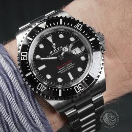 RO22325S Rolex Sea Dweller 50th Anniversary Unworn Wrist