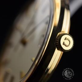 OM19632S Omega Vintage 9ct Gents Dress Watch Close3