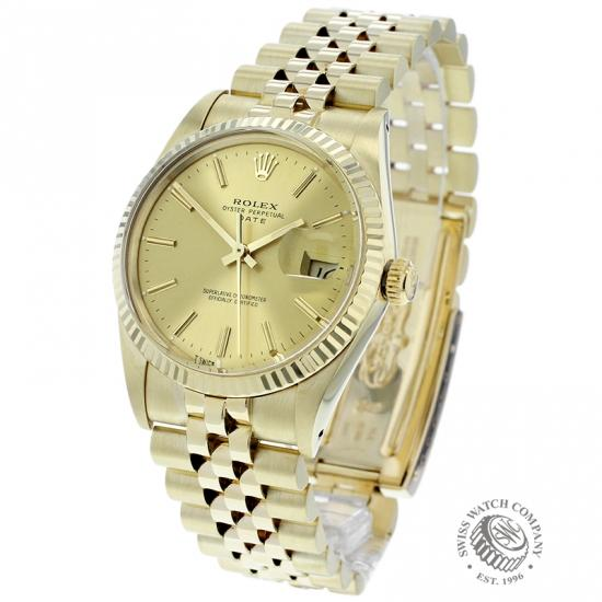 Rolex Vintage Oyster Perpetual Date 14ct