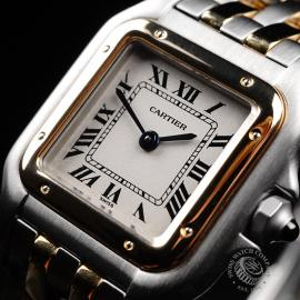 CA21923S Cartier Ladies Panthere 2-Row Close2