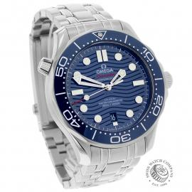 OM22144S Omega Seamaster Professional 300M Dial