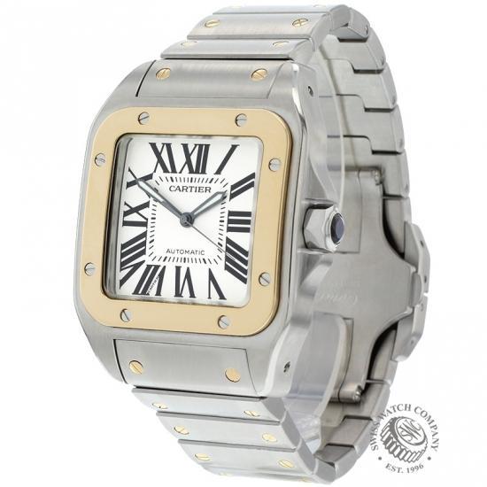 8d089eb144a Cartier Santos 100 Extra Large Watch - W200728G - Ref  - Cartier ...