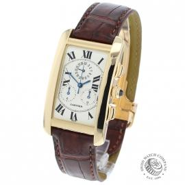 Cartier Tank Americaine Chronograph