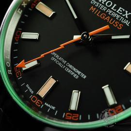 RO21986S Rolex Milgauss Unworn Close4 1