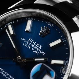 RO22076S Rolex Datejust 41 Unworn Close3